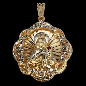 Charm Santa Barbar 14k Gold