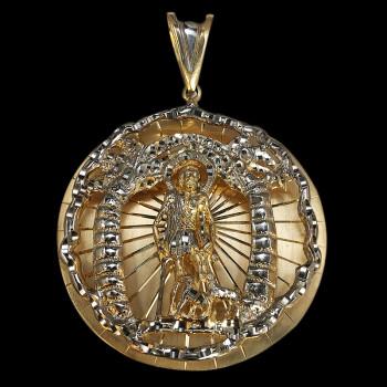 Charm San Lazaro 10k Gold