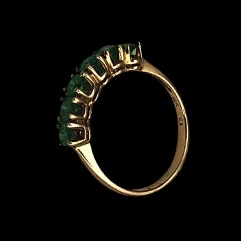 10k Yellow Gold Woman Ring...