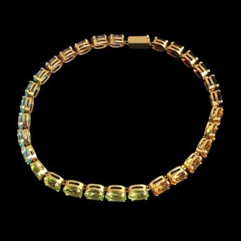 14k Yellow Gold Woman Bracelet