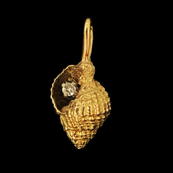 14k Yellow Gold Fancy Charm