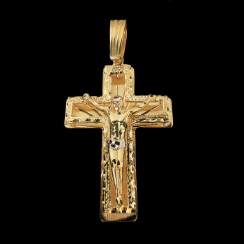 10k Yellow Gold Crucifix