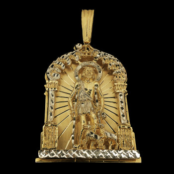 14k Yellow Gold San Lazaro...