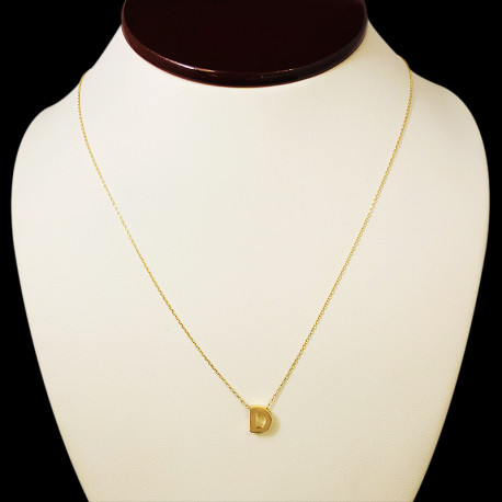 14k Yellow Gold Chain with Pendant (D)