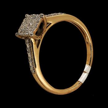 14k Yellow Gold Diamond...