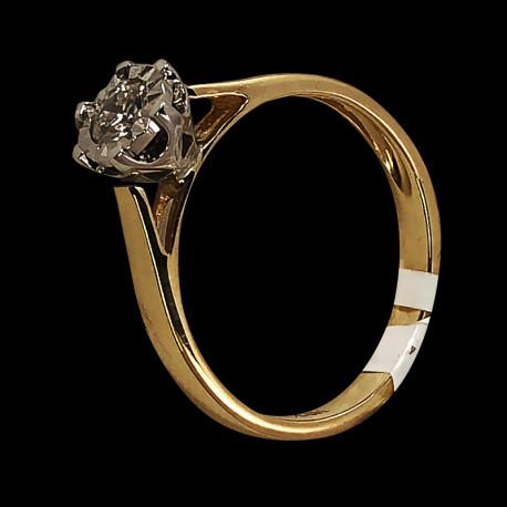 copy of 14k White Gold Diamond Solitaire