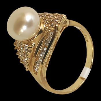 10k Yellow Gold Fashion Ring