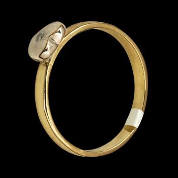 18k gold Two tones Fancy Ring