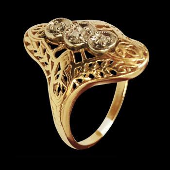 14k Gold Fancy Ring