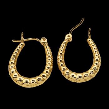 14k Yellow Gold Earring