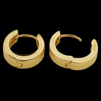 Aretes de oro 14k