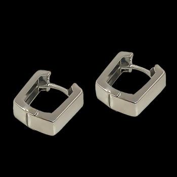 18k White Gold Earring