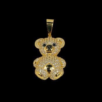 14 kt Yellow Gold Bear Pendant